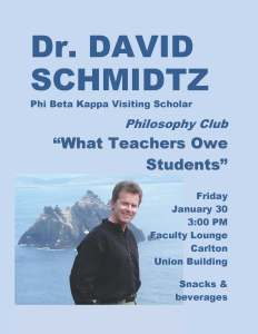 DS Philosophy Club Poster